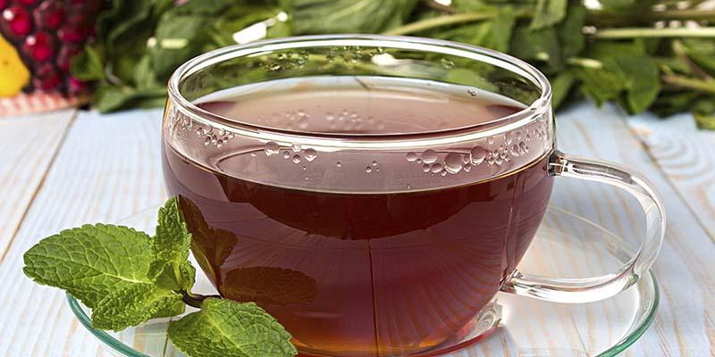 té negro para bajar de peso