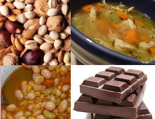 Cinco alimentos para combatir el fr o - Alimentos frios ...