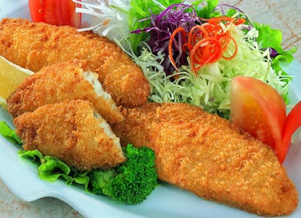 Receta para preprar filete de pescado empanizado for Como cocinar pescado